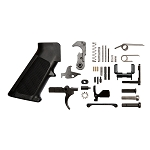 Complete Lower Receiver Mil-Spec Parts Kit with Ambi Selector -
