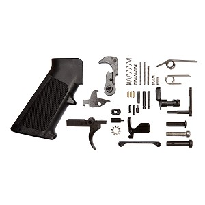 "Lower Receiver Parts Kit with Right-Handed Selector - ""MADE IN THE USA"""