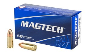 Magtech, Sport Shooting, 9MM, 115Gr, Full Metal Jacket, 50 Round Box