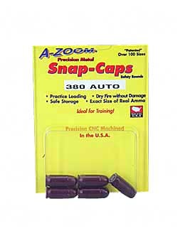 A-Zoom, Snap Caps, 380 ACP, 5 Pack